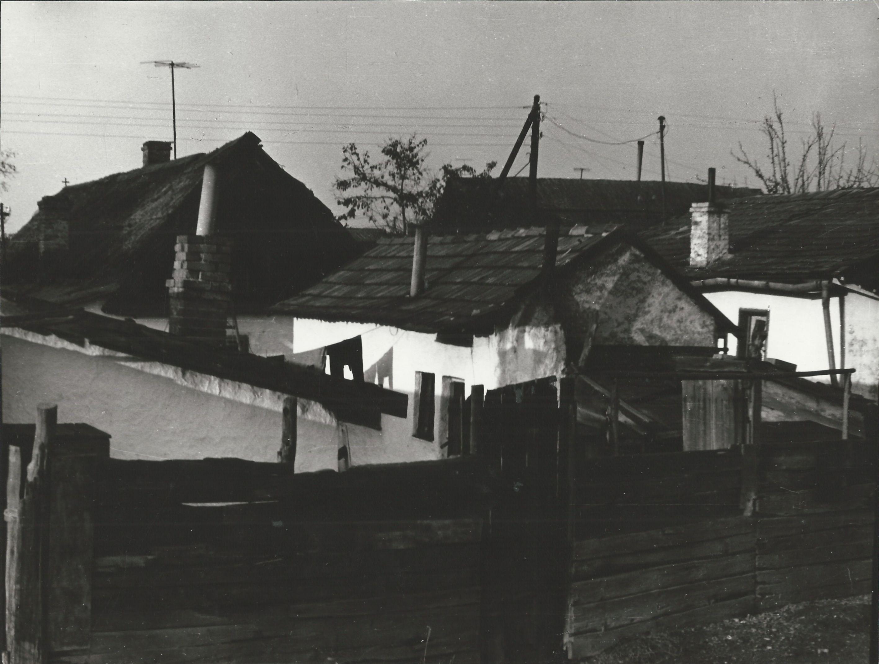 Tabáni házak Burkus Imréné 1975
