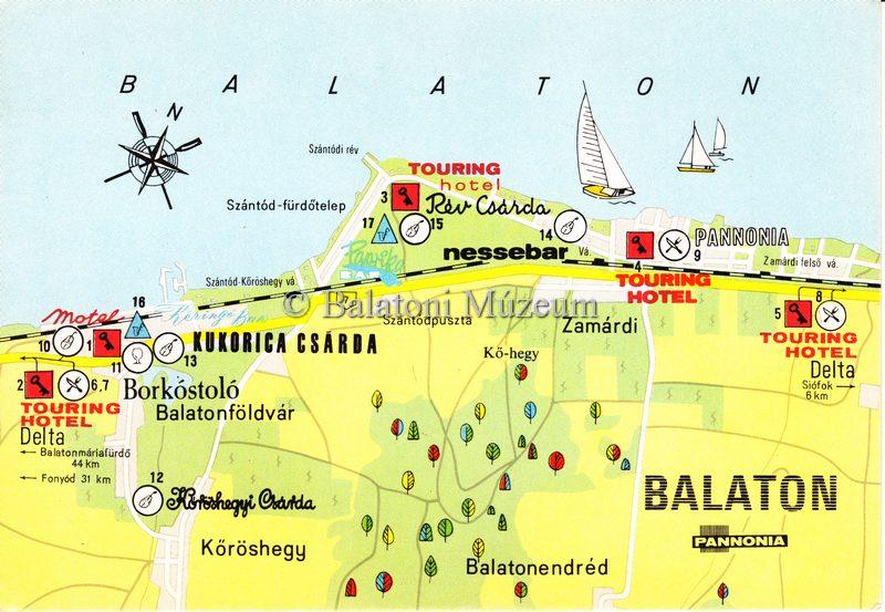 Magyar Nemzeti Digitalis Archivum Balaton Terkep