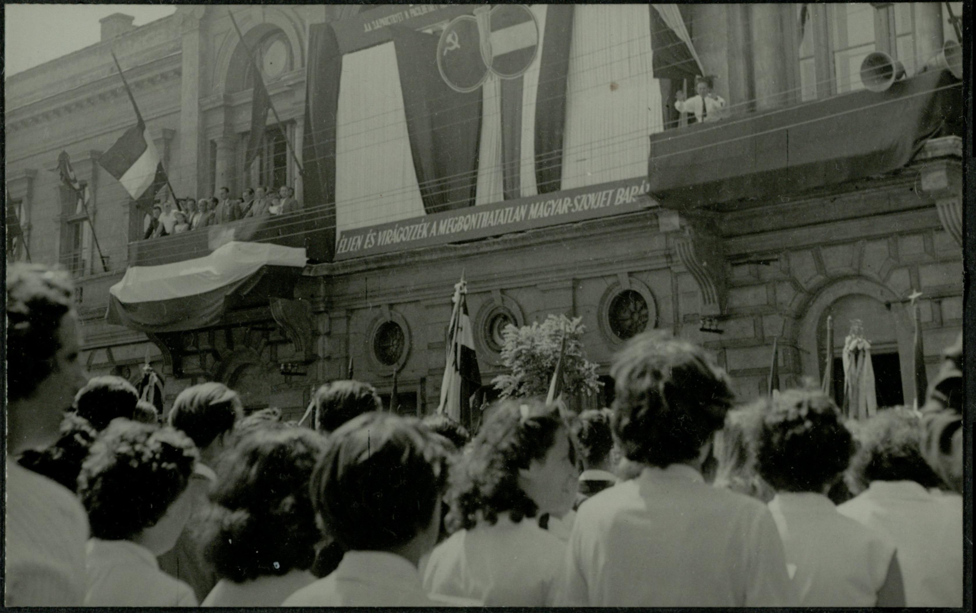 Városháza Szolnok 1958.06.01.