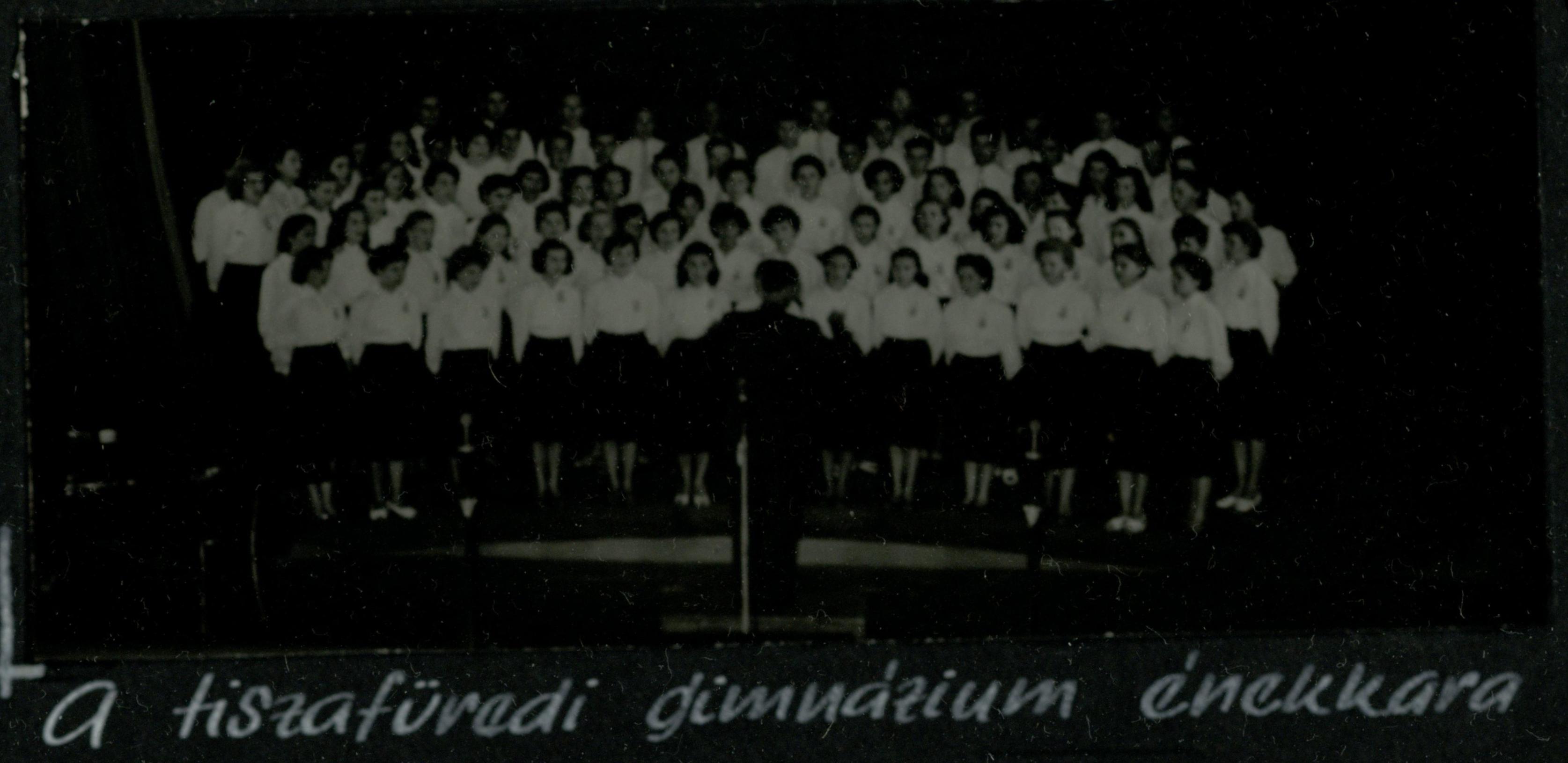 Tiszafüredi gimnázium énekkara