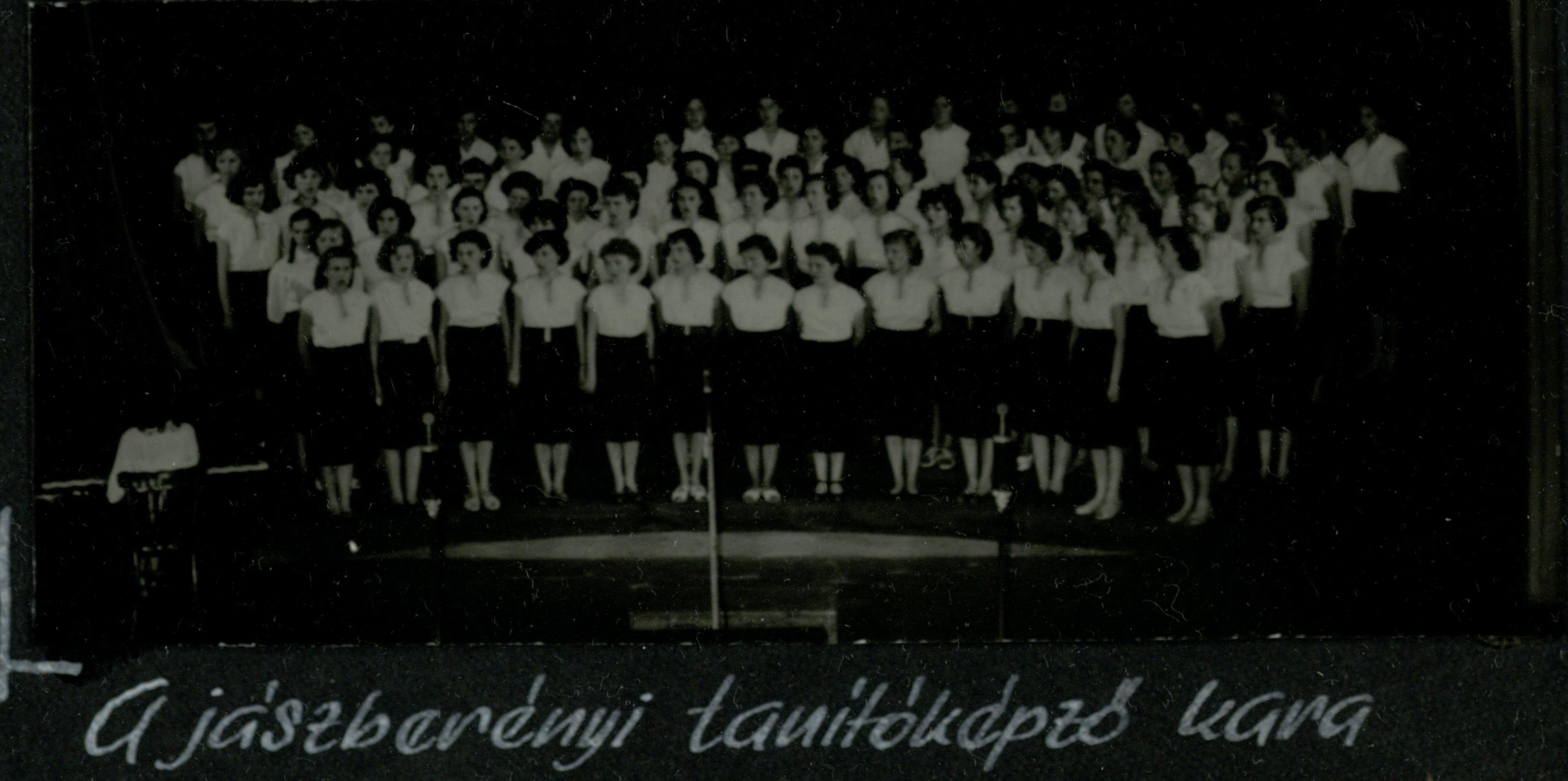 Jászberényi tantóképző kara 1958.06.01.