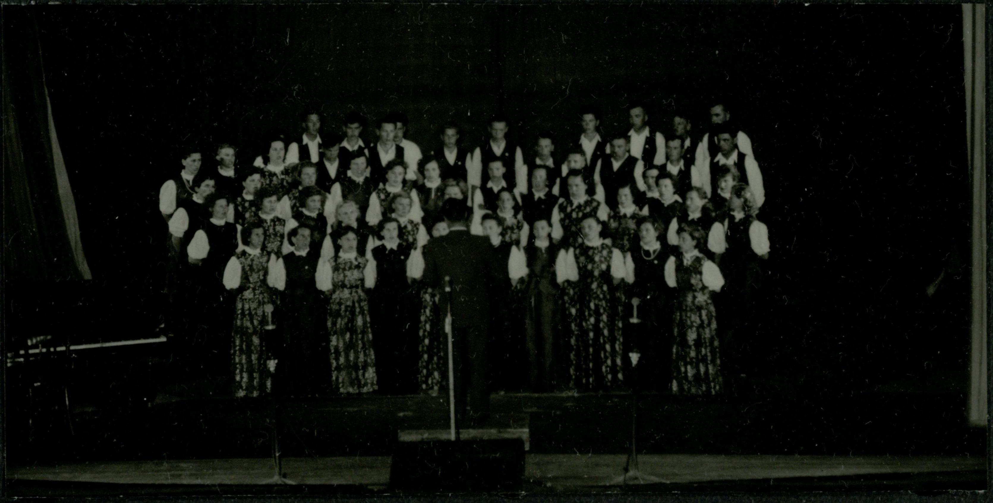 Csépai Parasztkórus 1958.06.01.