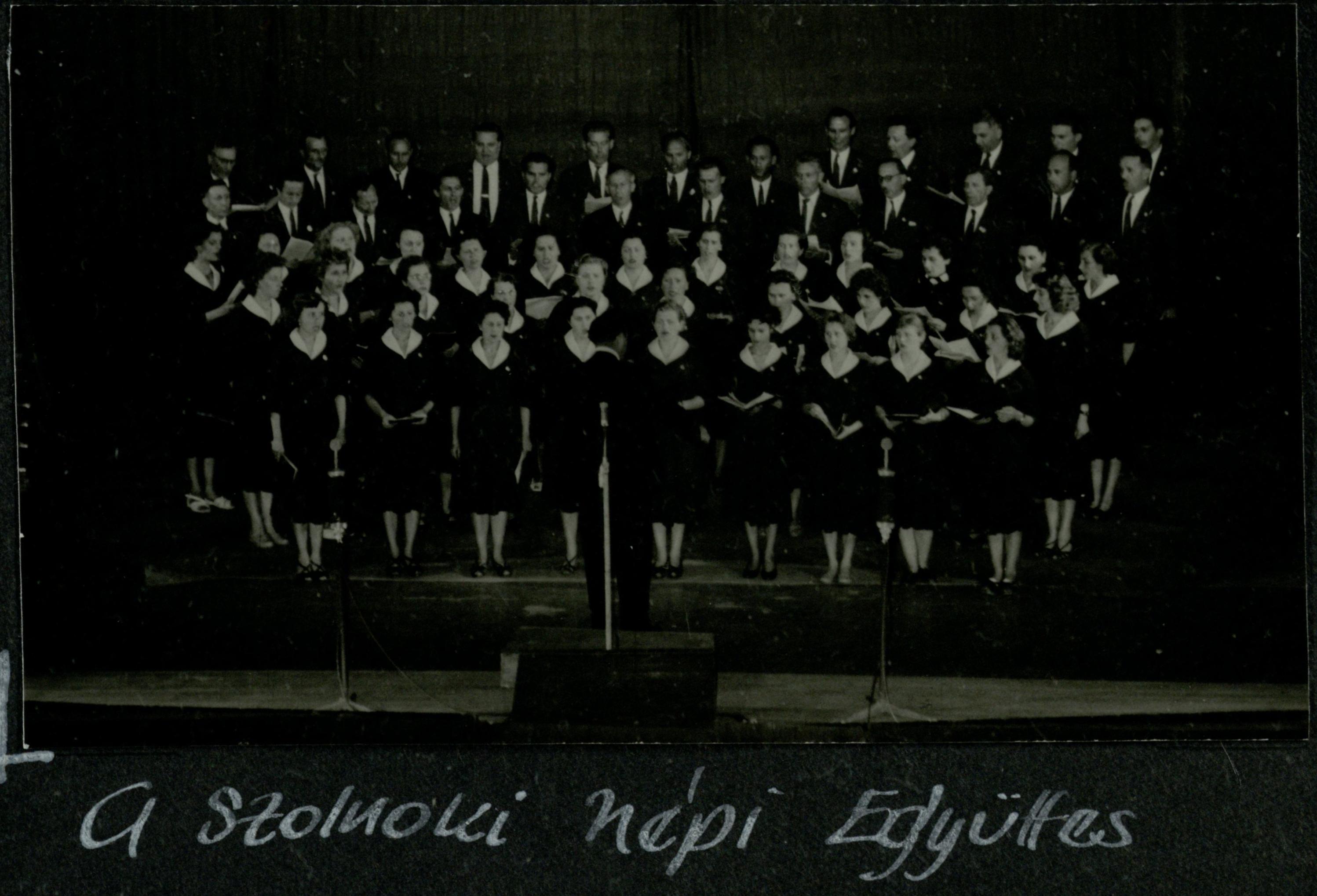 Szolnoki népi együttes 1958