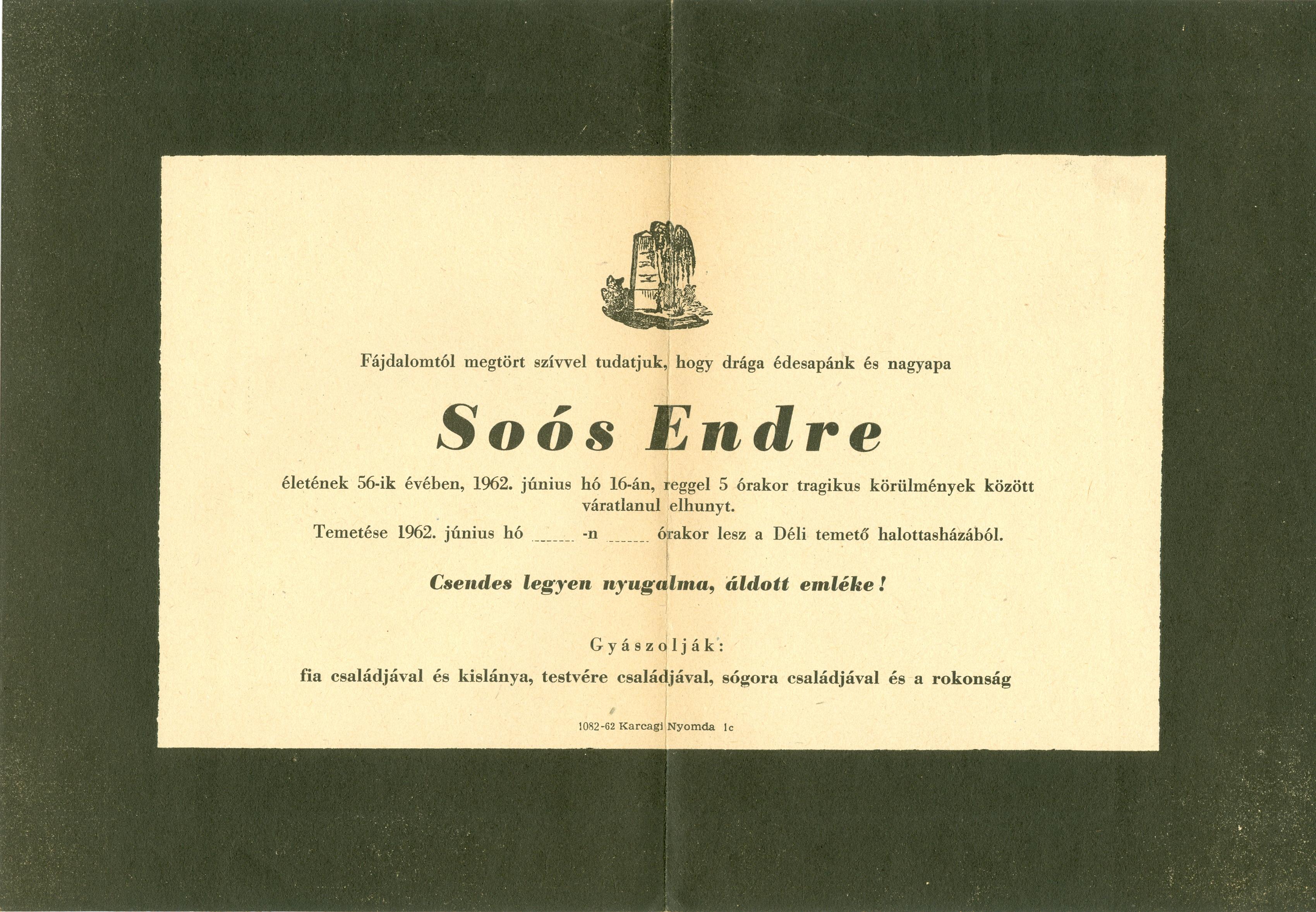 Soós Endre