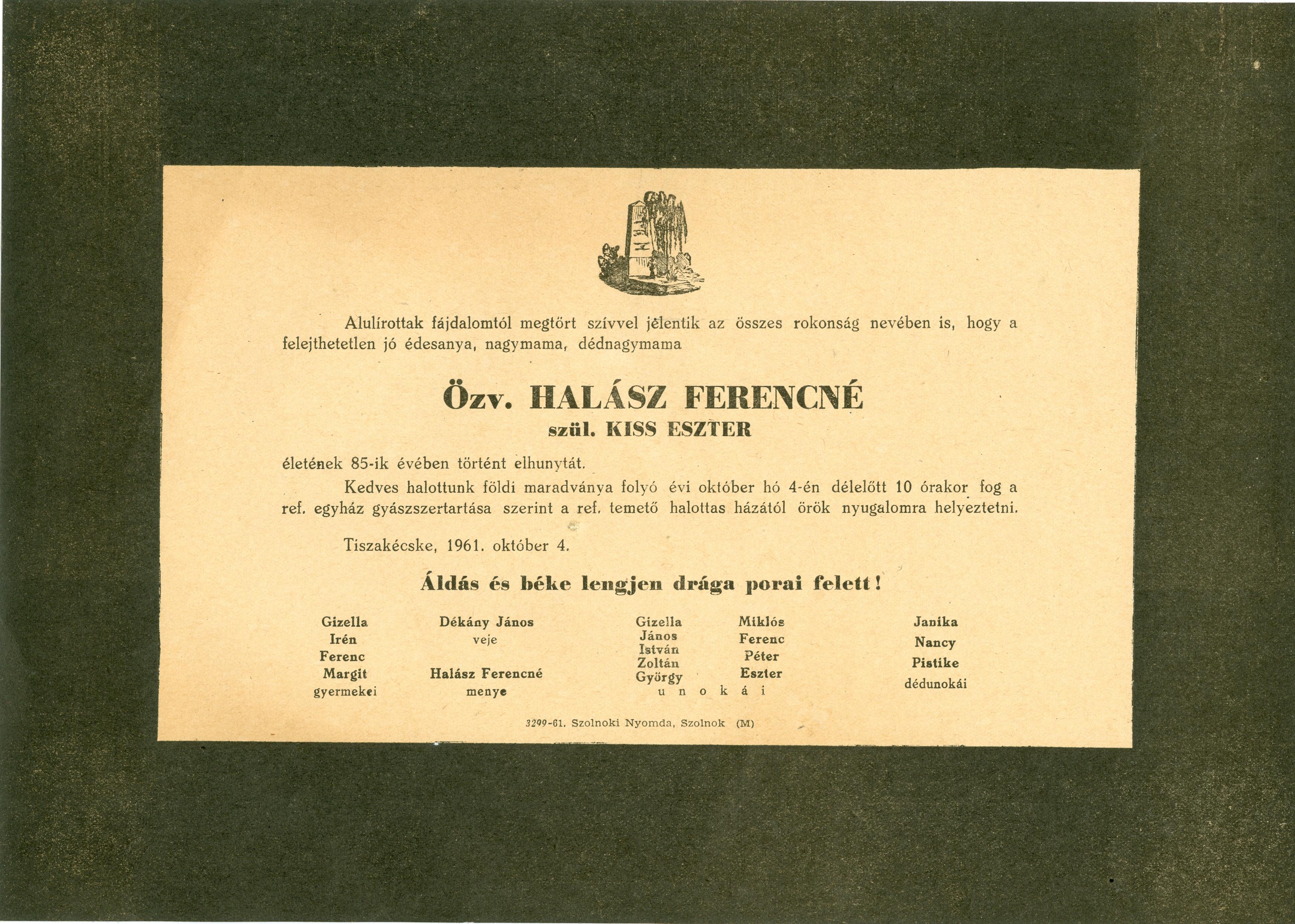 Halász Ferencné