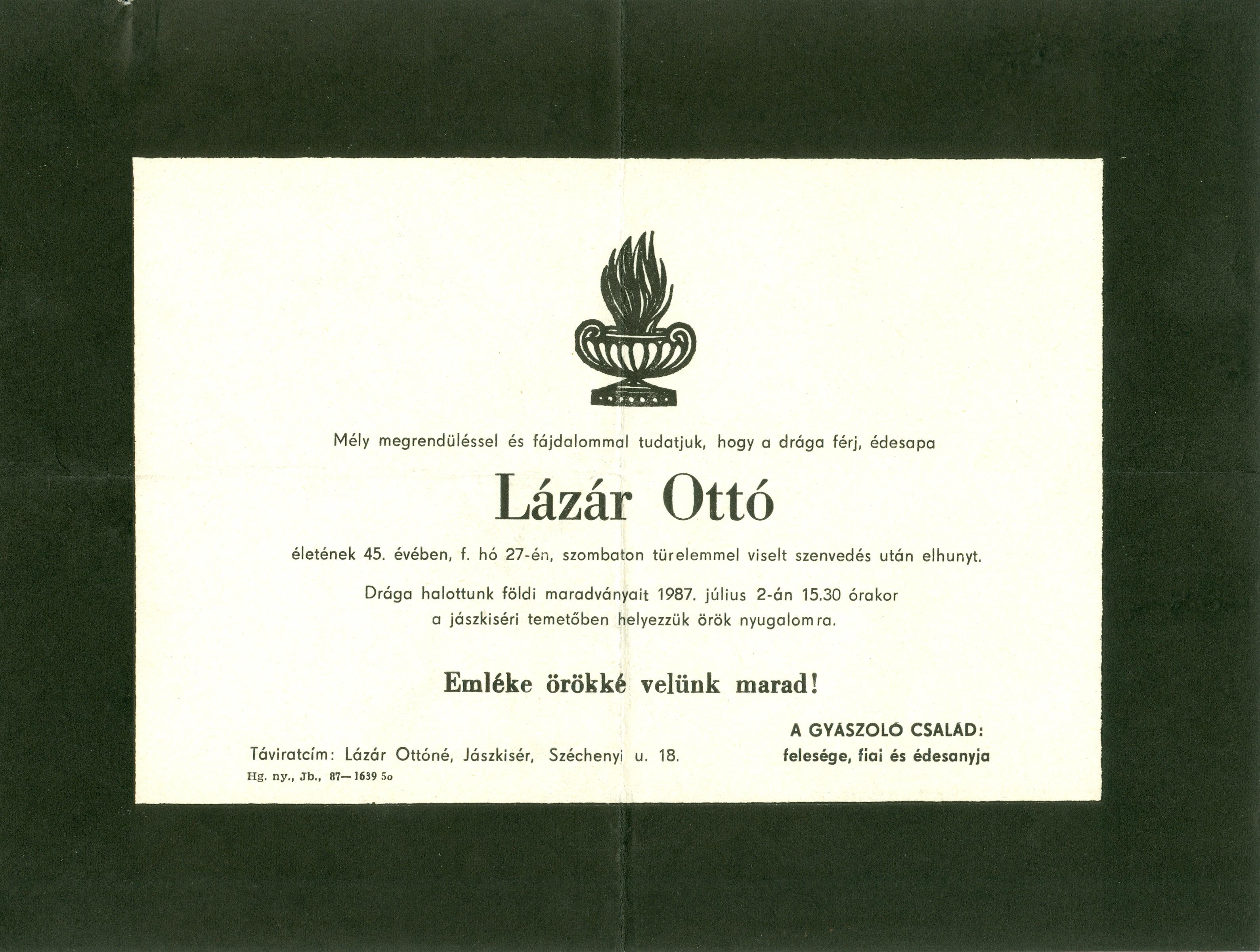 Lázár Ottó
