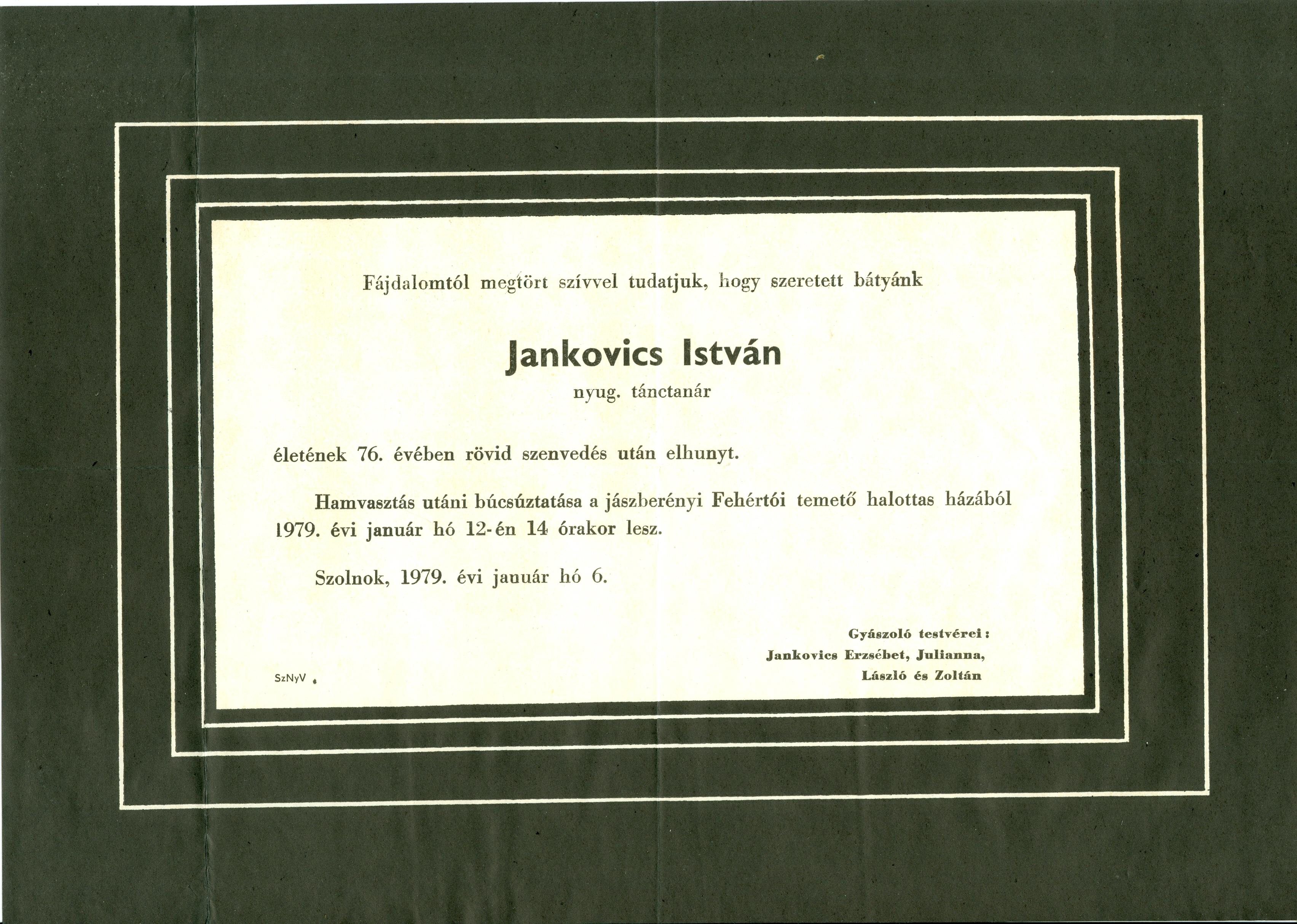 Jankovics István