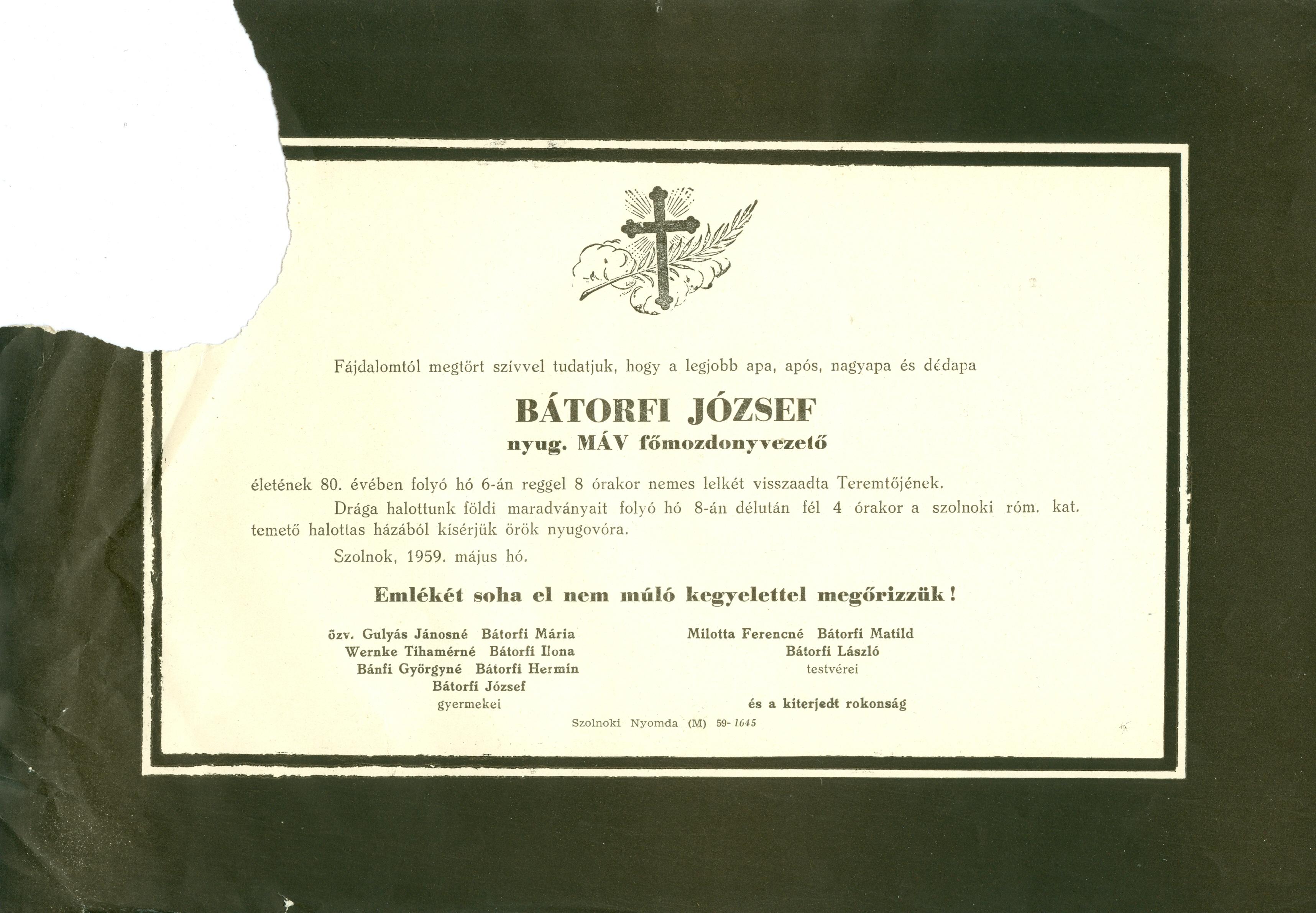 Bátorfi József