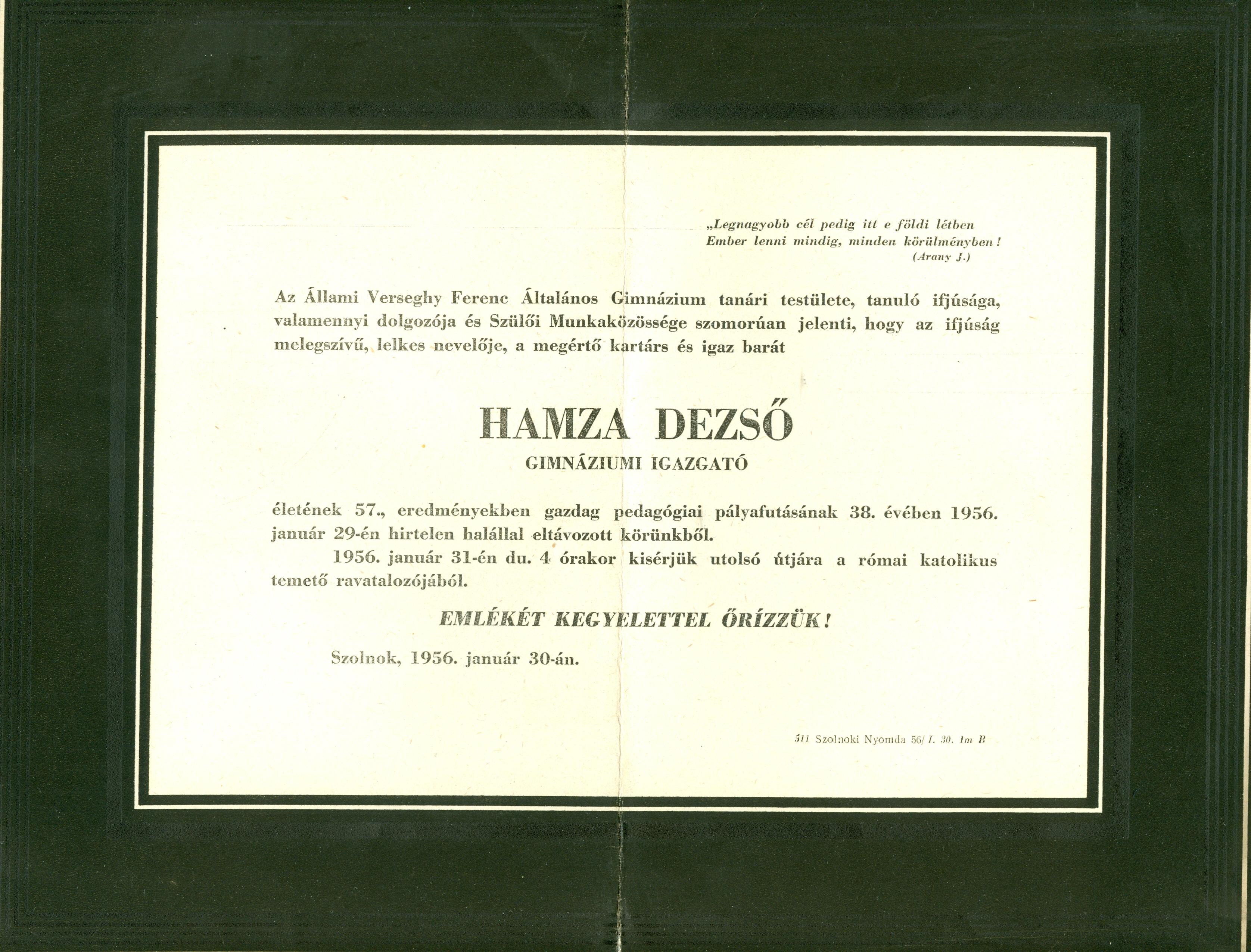 Hamza Dezső