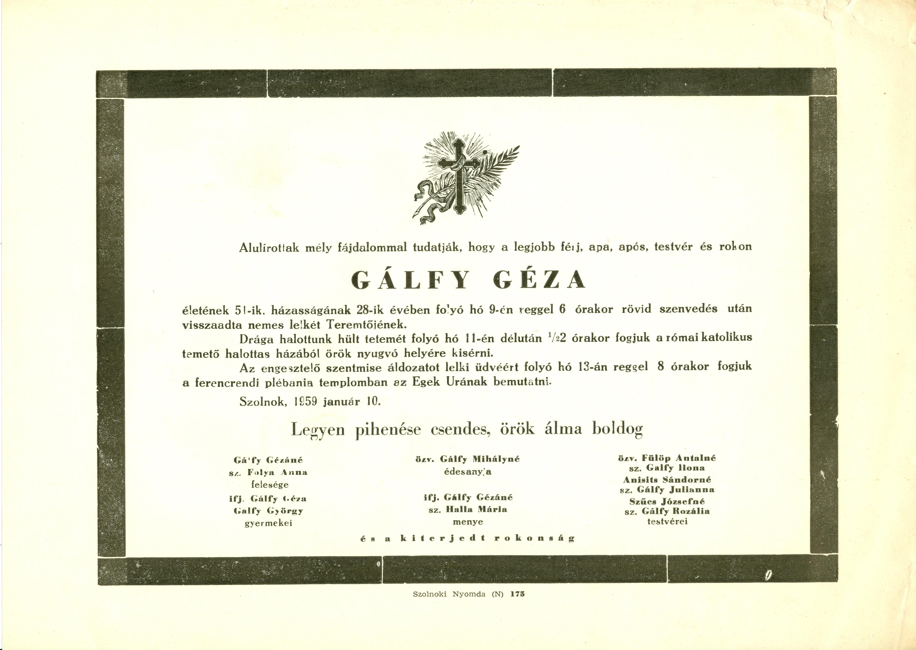 Gálfy Géza