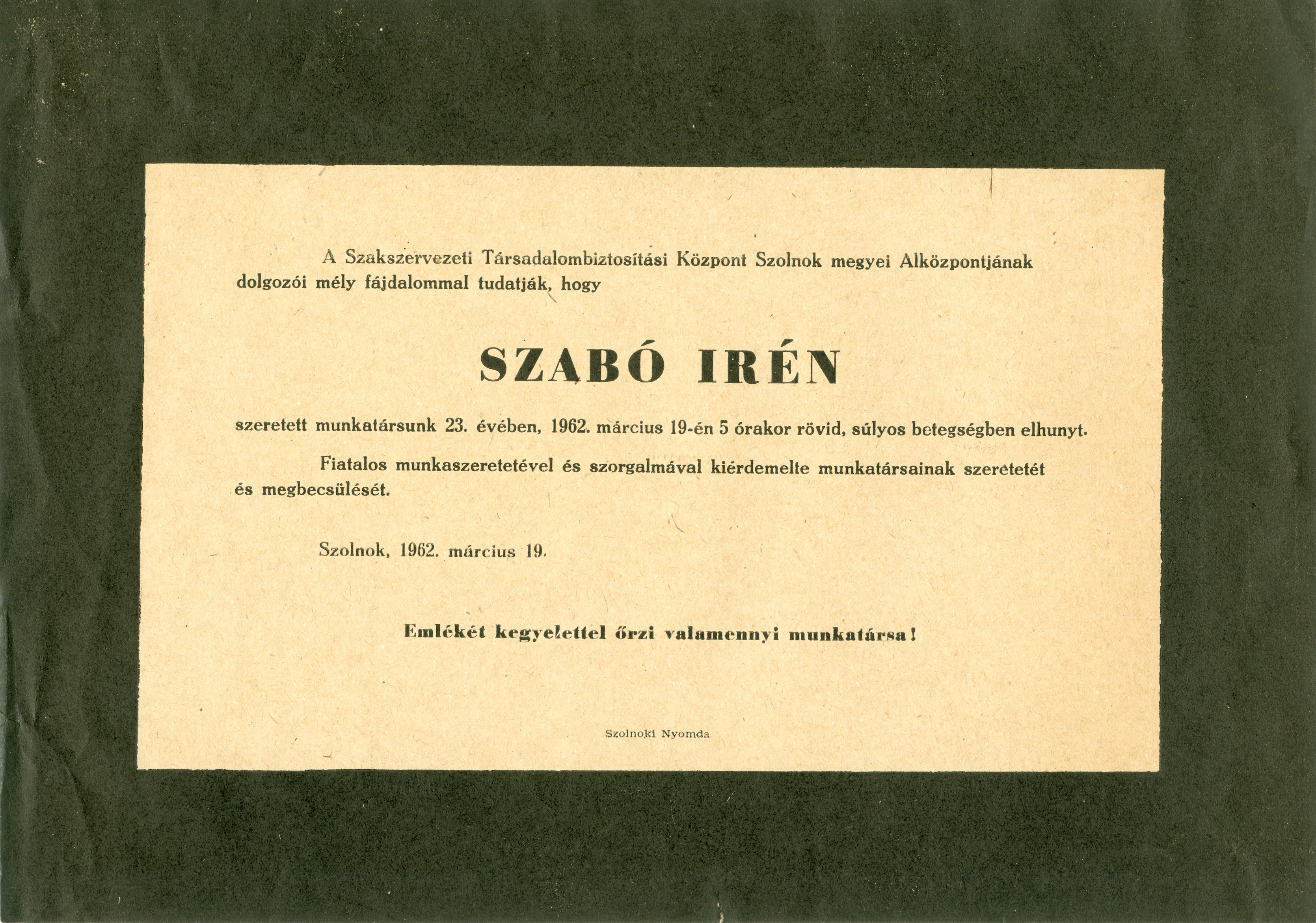 Szabó Irén