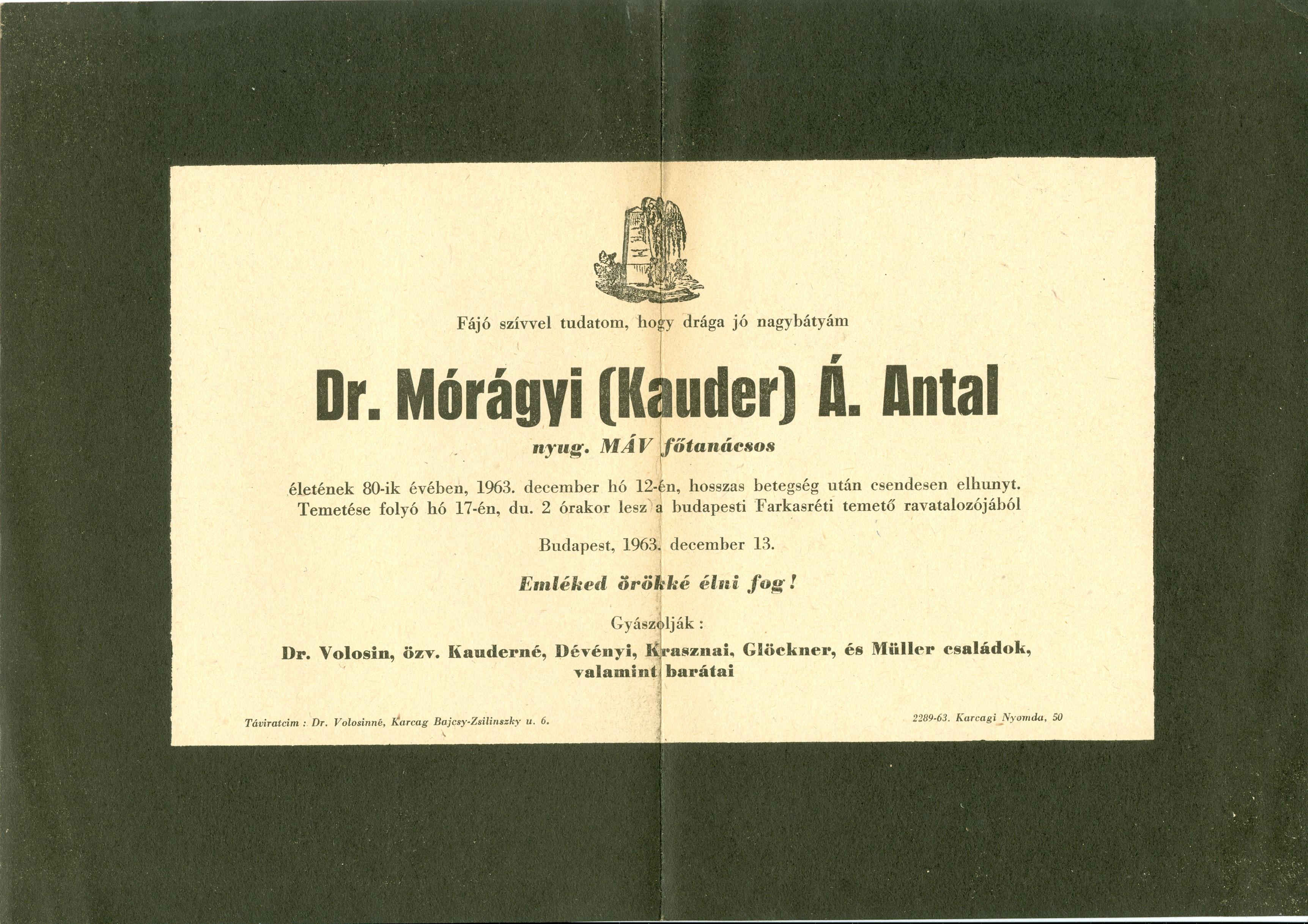 Mórágyi Antal