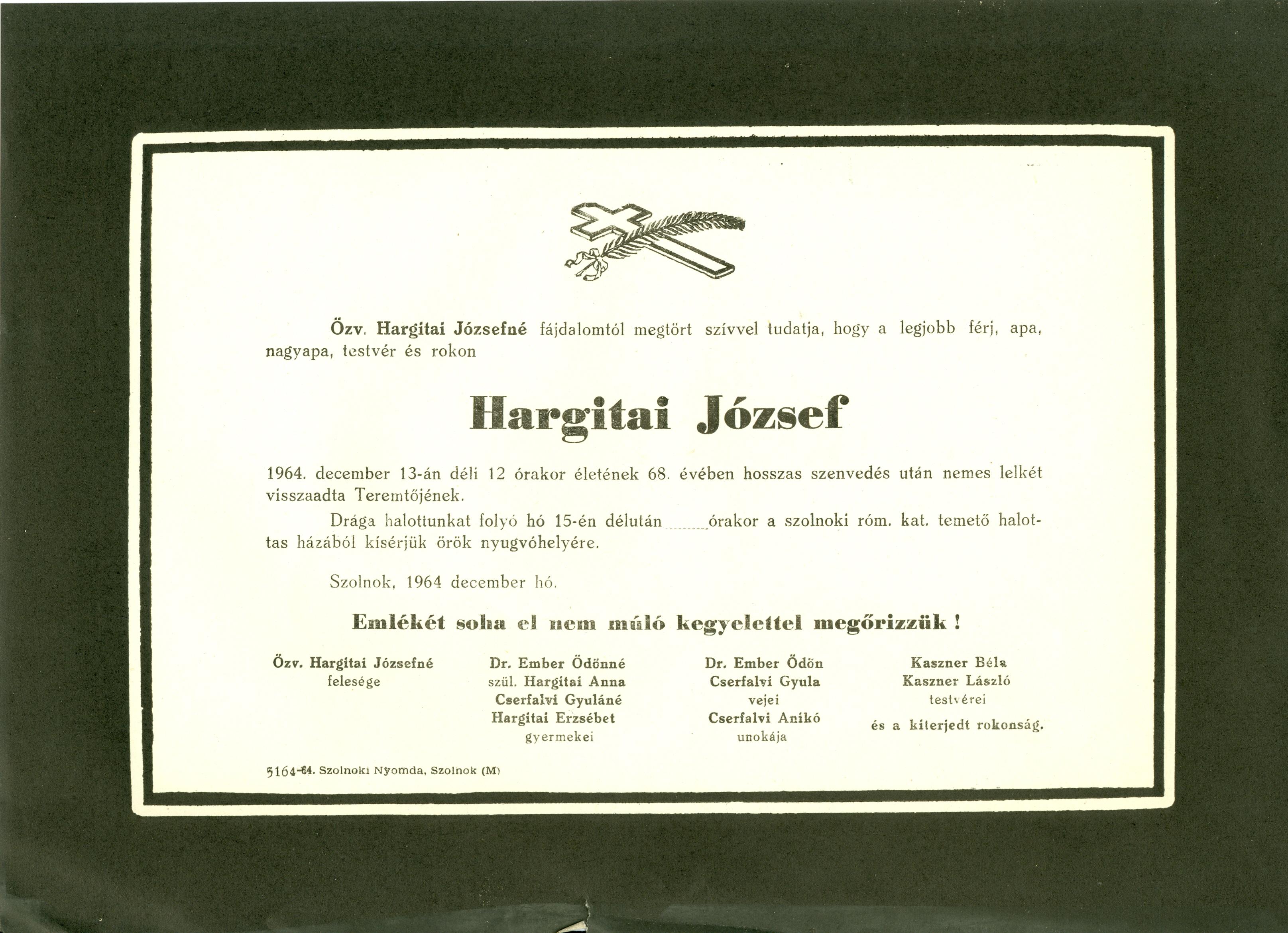 Hargitai József
