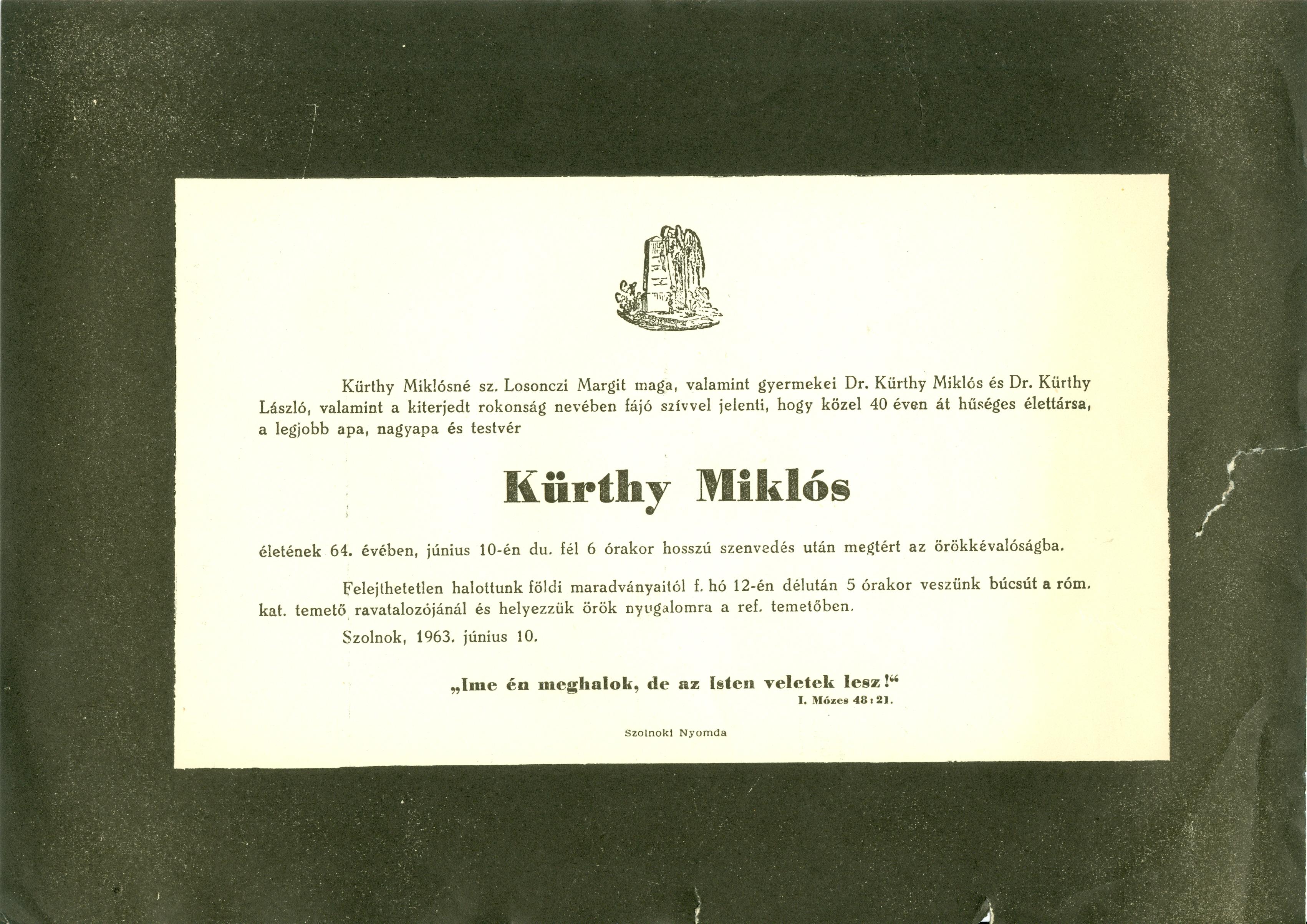 Kürthy Miklós