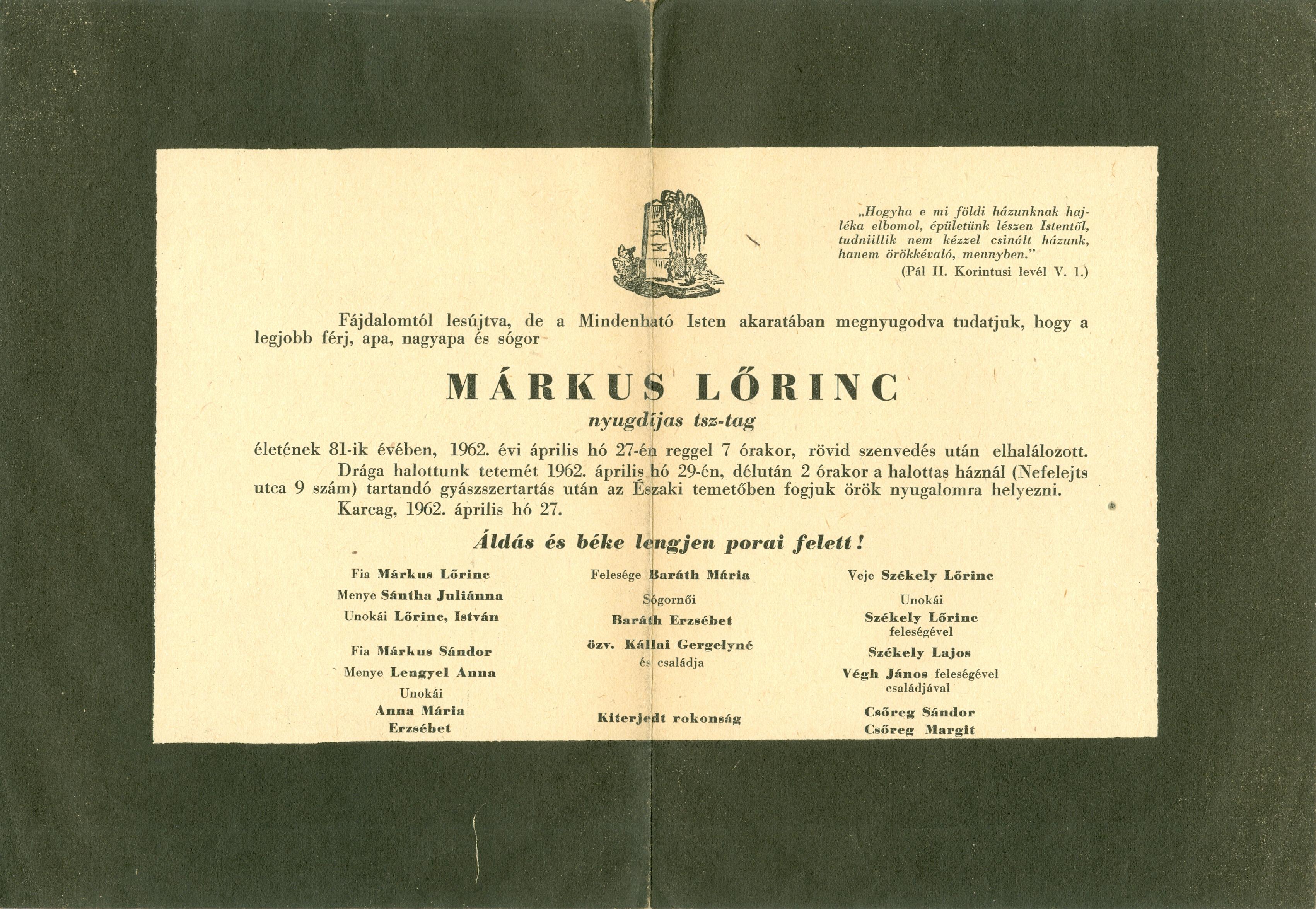 Márkus Lőrinc