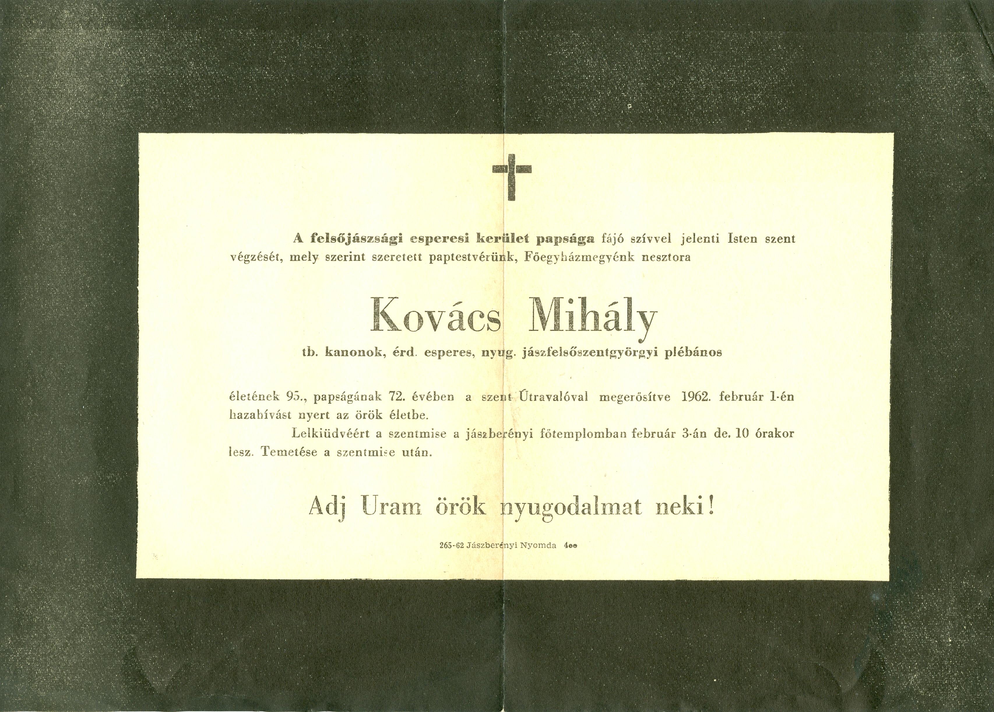 Kovács Mihály