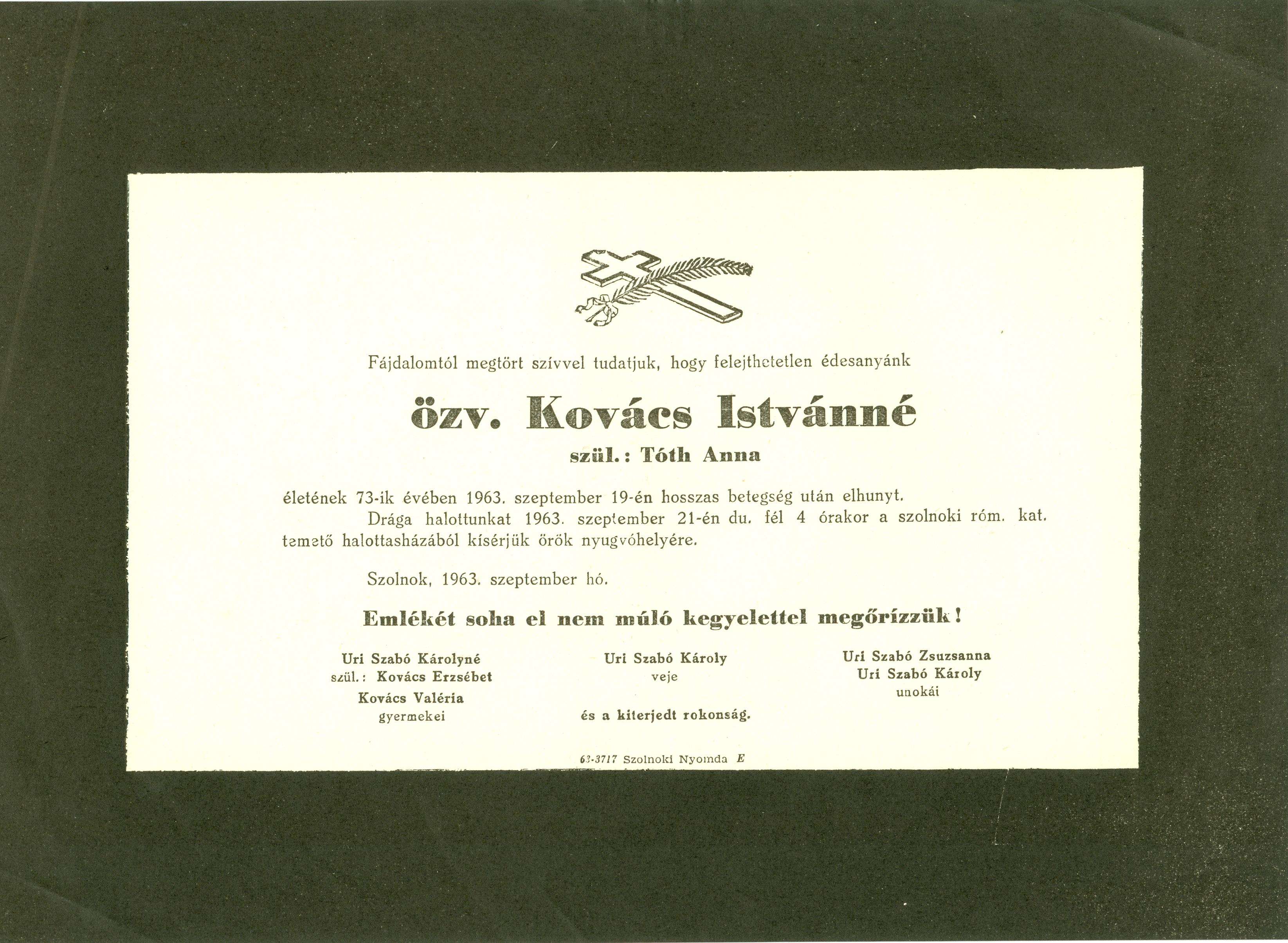 Kovács Istvánné
