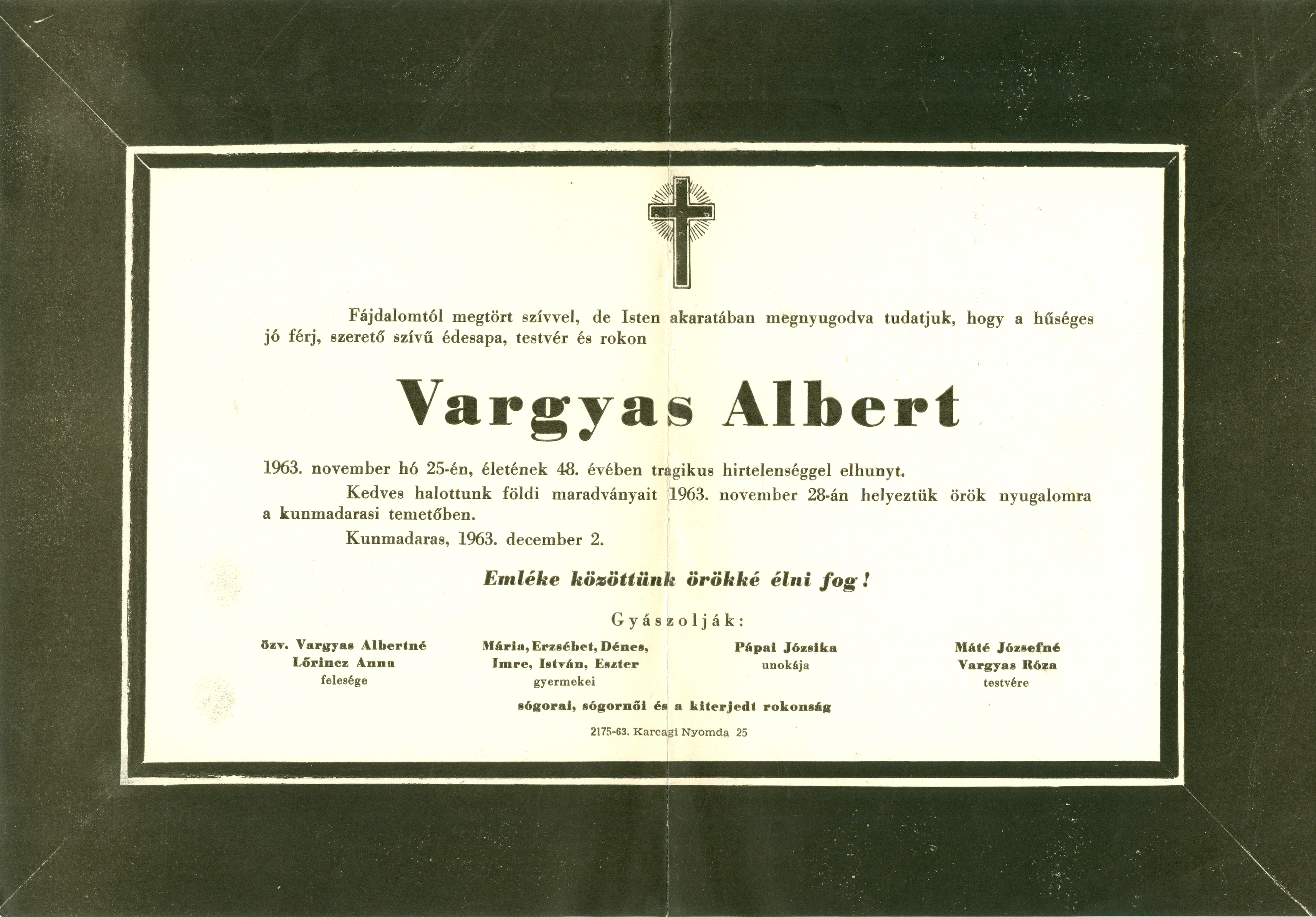 Vargyas Albert