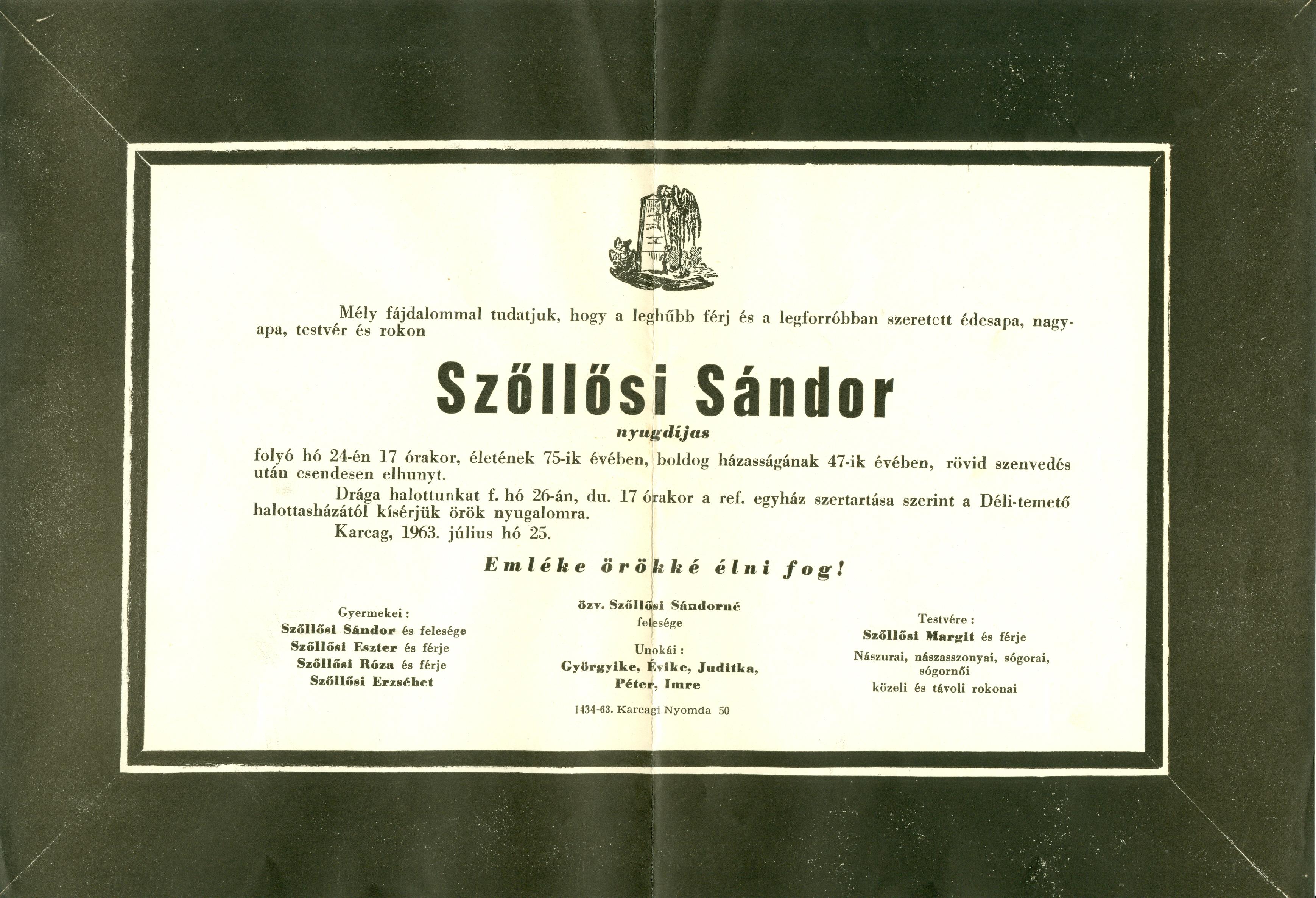Szőllősi Sándor