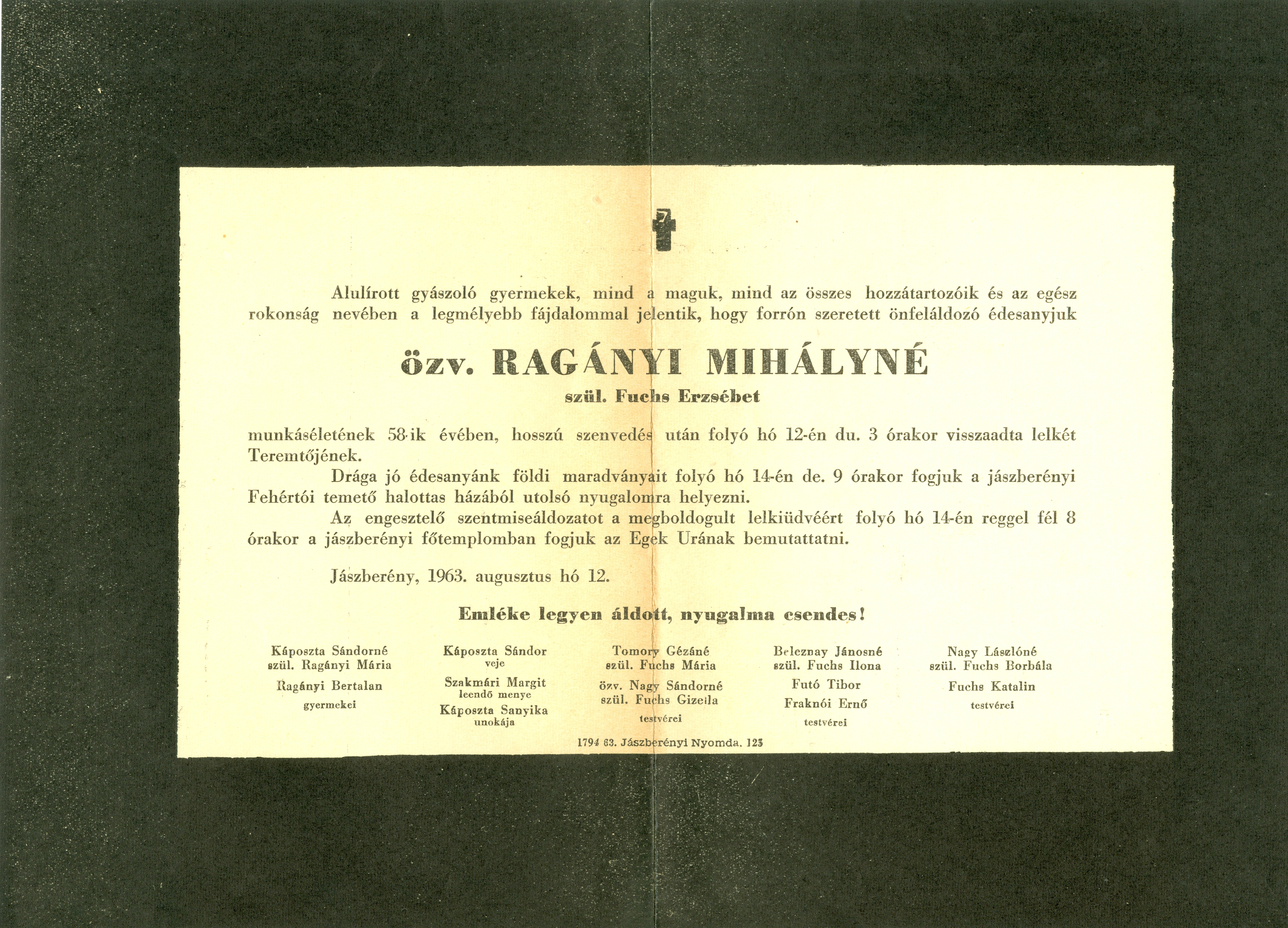Ragányi Mihályné
