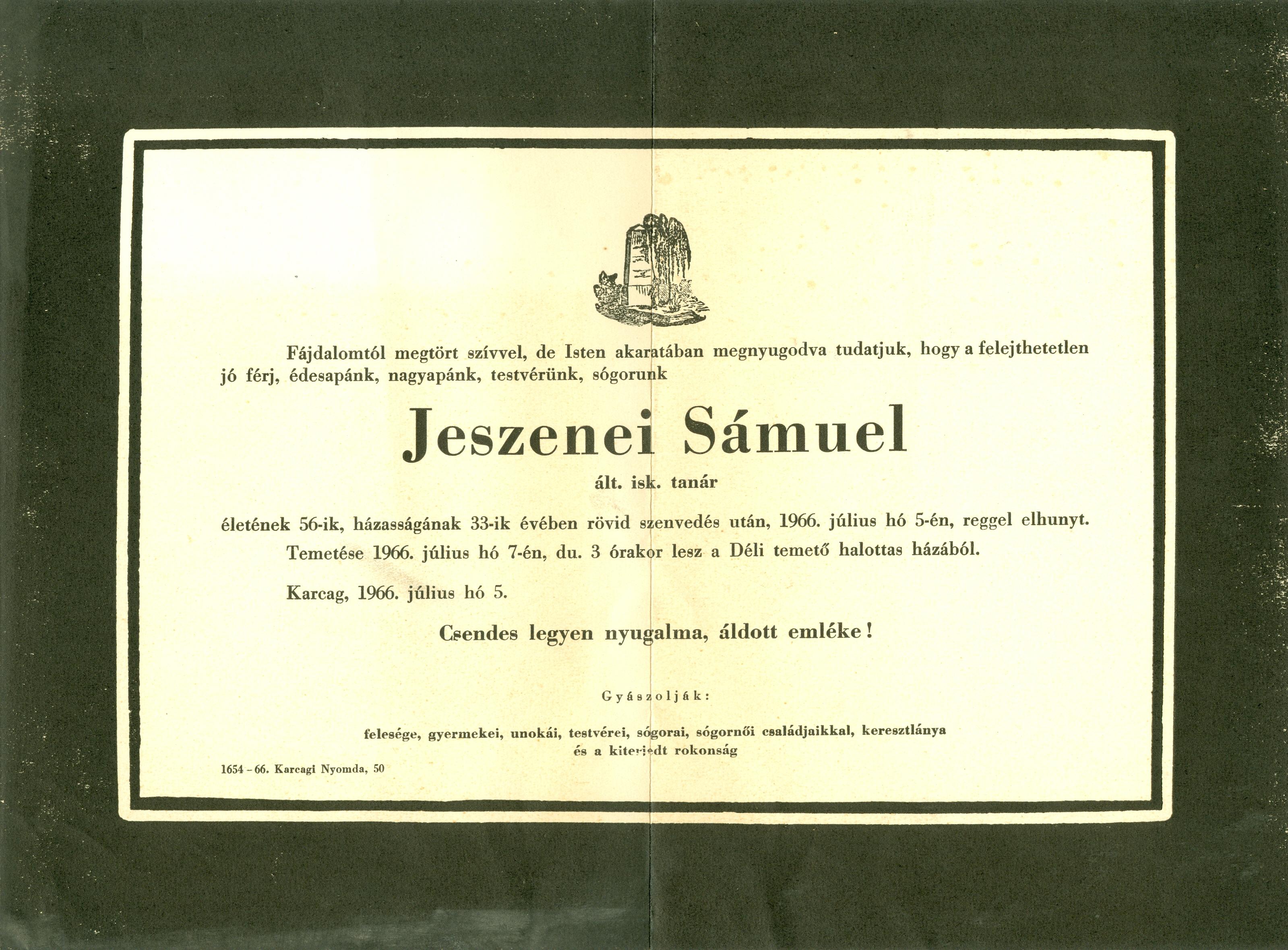 Jeszenei Sámuel