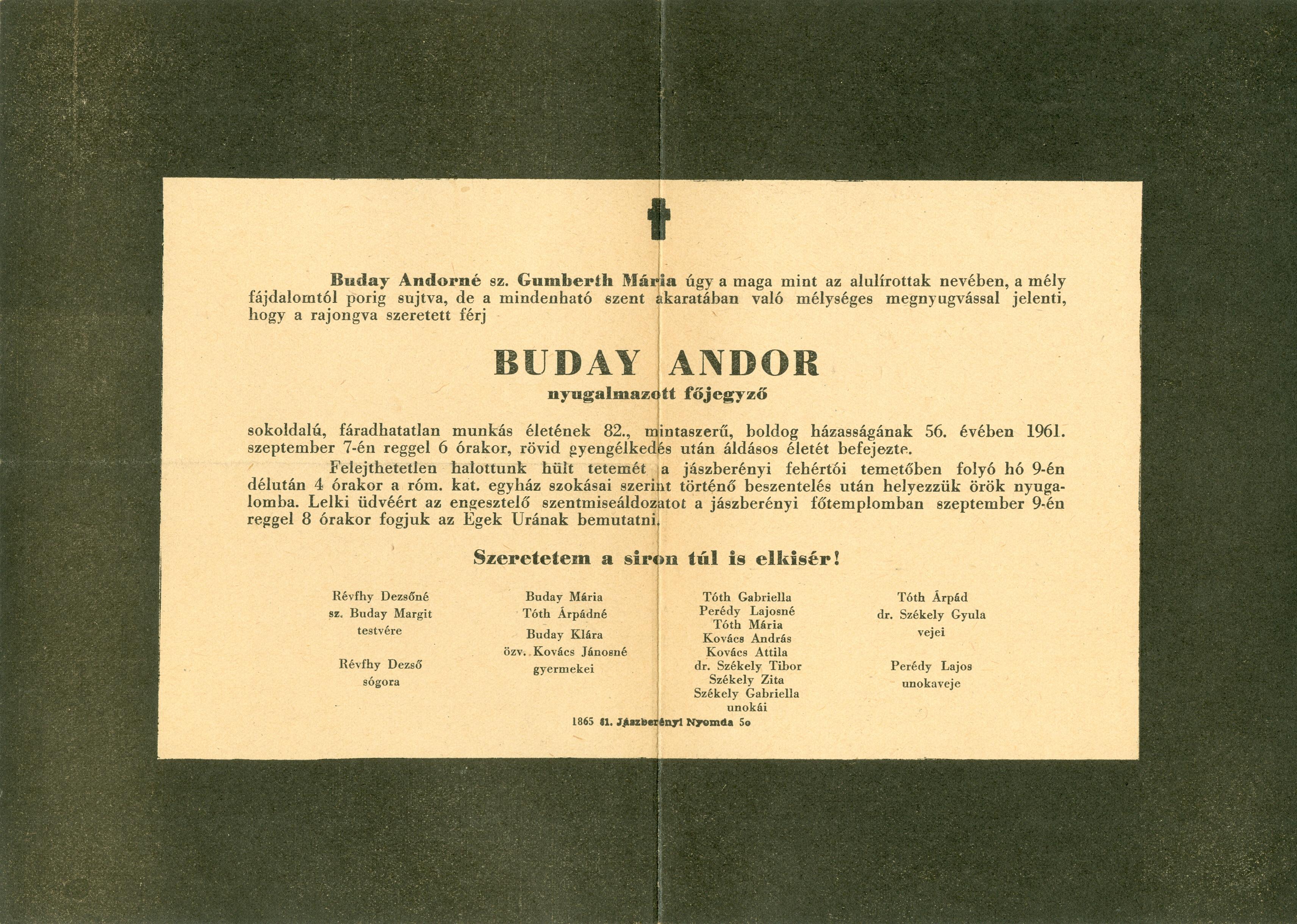 Buday Andor