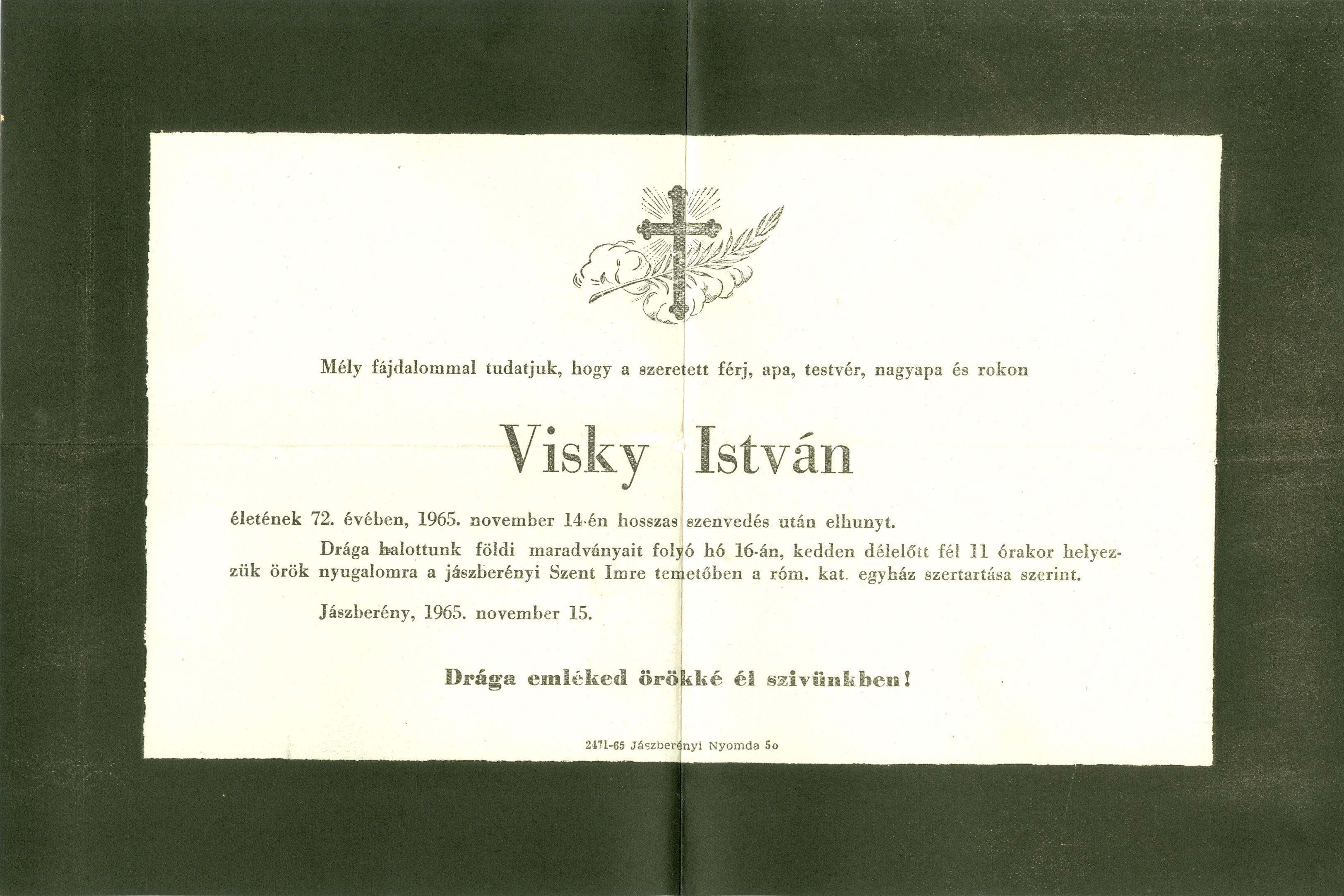 Visky István
