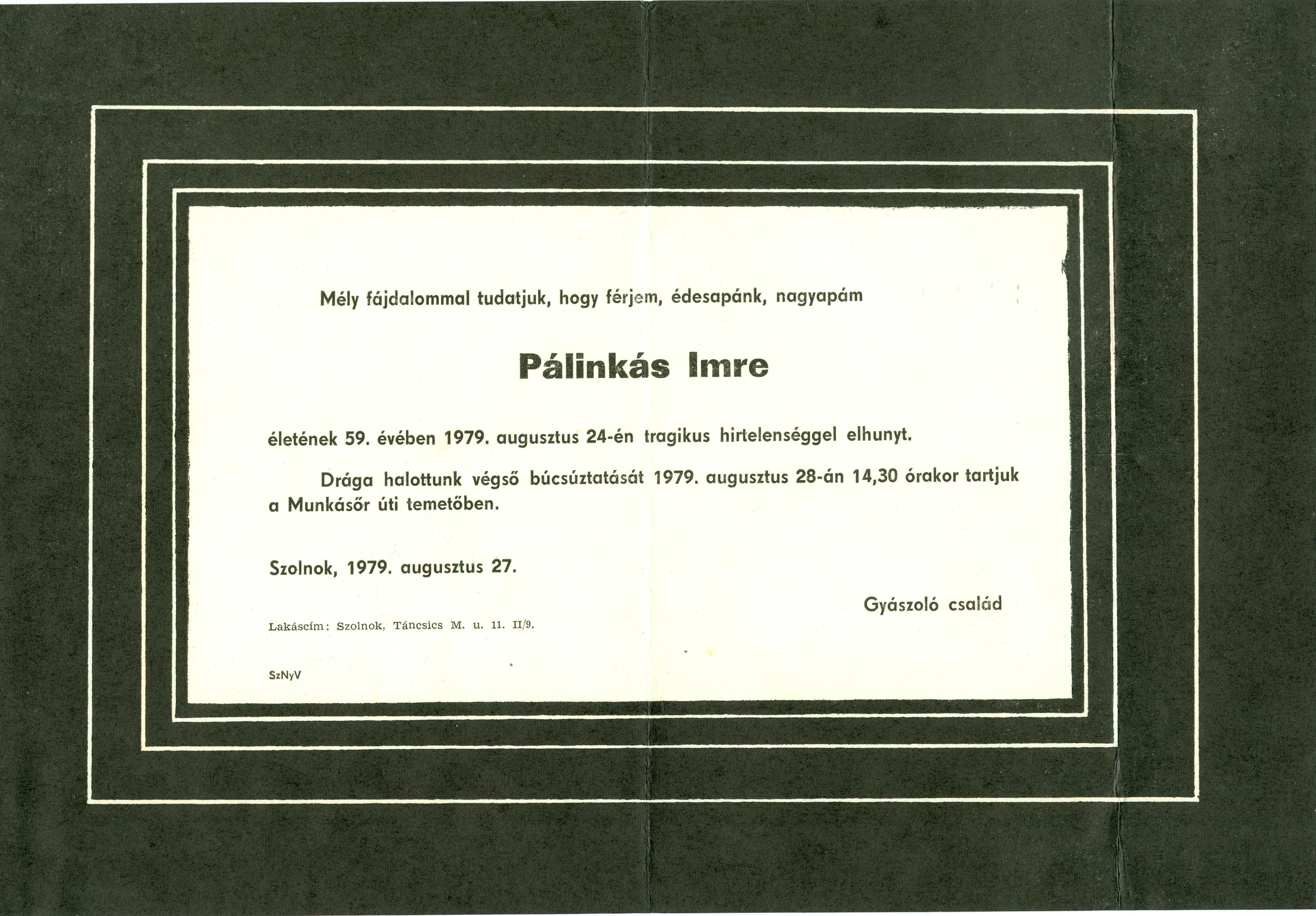 Pálinkás Imre