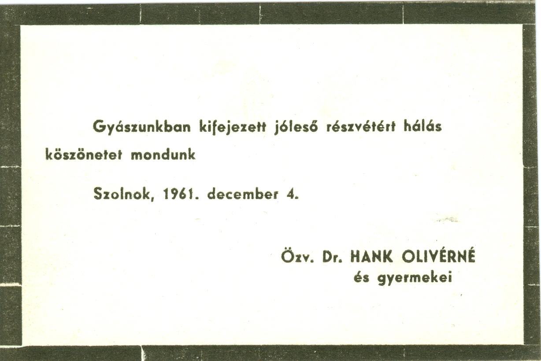 Hank Oliverné