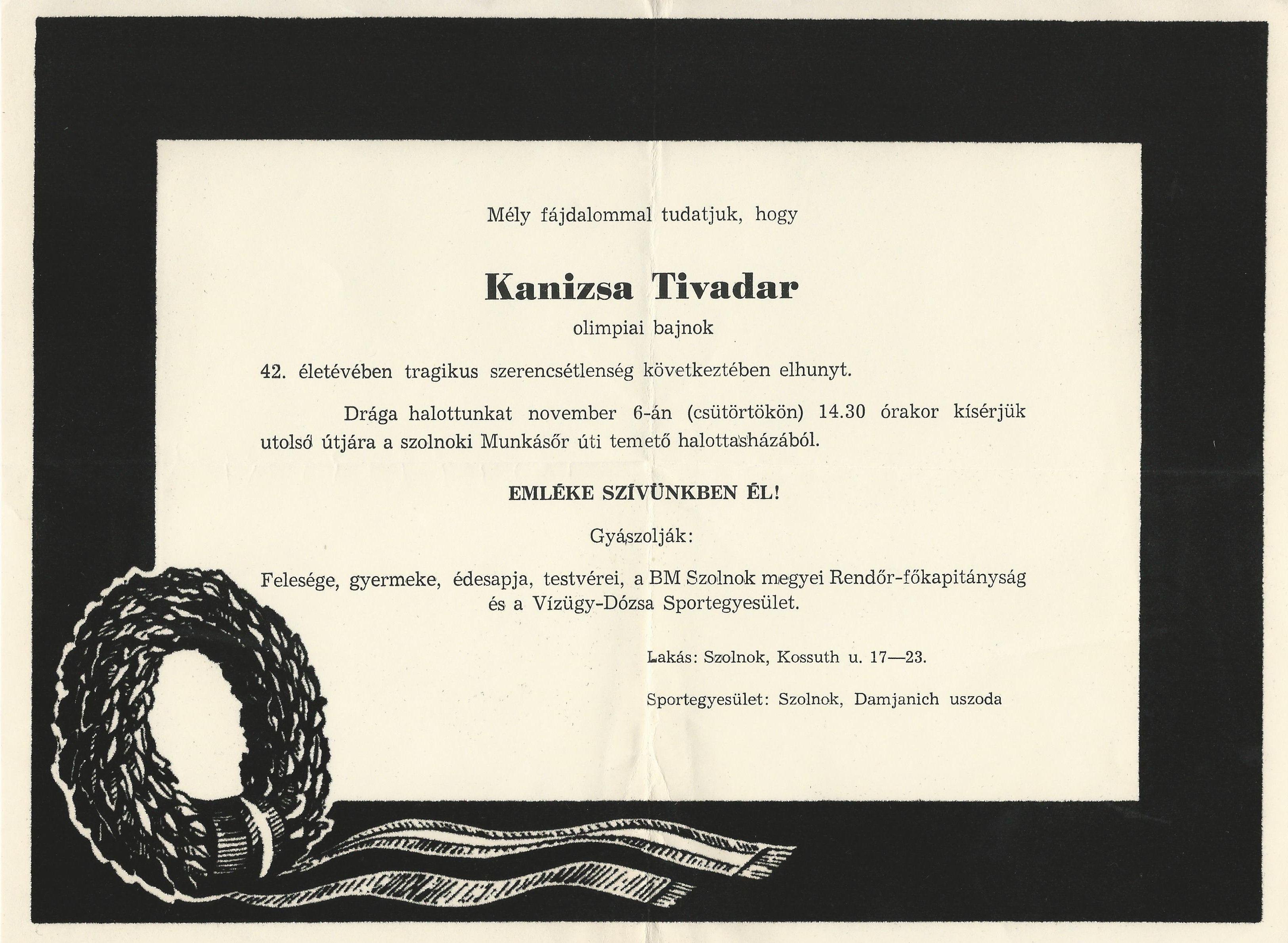 Kanizsai Tivadar