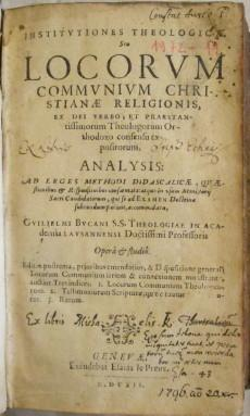 Institutiones theologicae