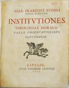 Institutiones theologiae moralis