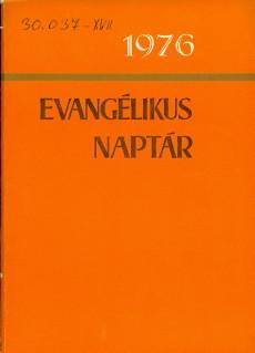 Evangélikus naptár 1976
