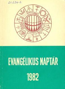 Evangélikus naptár 1982
