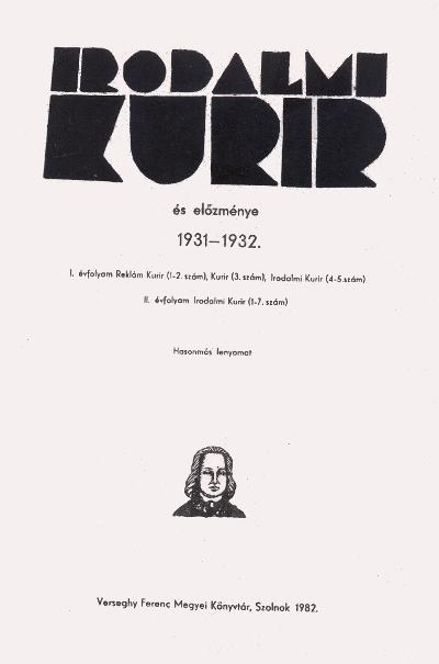 Irodalmi kurír reprint