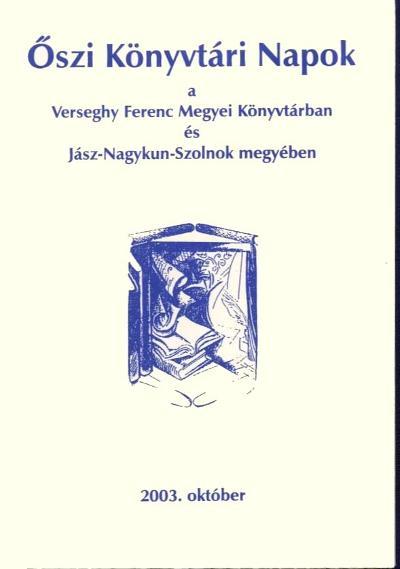 Könyvtári napok programfüzete 2003