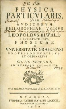 Physicae particularis