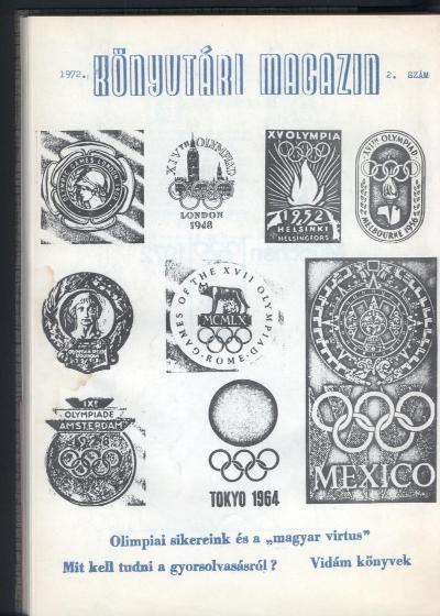 Könyvtári magazin címlapja 1972