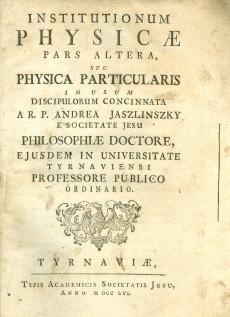 Institutiorum physicae