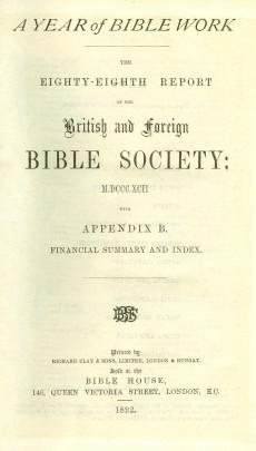 The_British_and_foreign_Bible_society