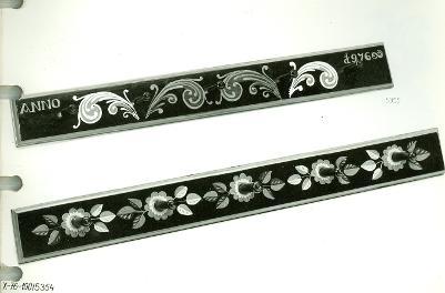 fekete festett fogasok