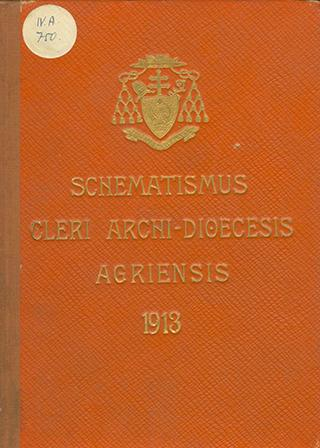Agriensis 1913