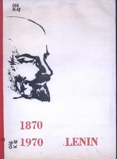Lenin 1870-1970 : [Ajánló bibliográfia]