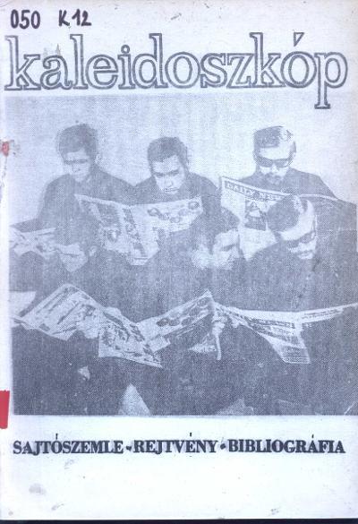 kaleidoszkóp címlapja