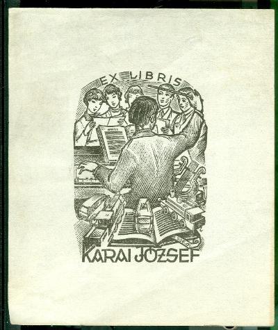 Karai József/Drahos István szignált (di 536) kórus, hangszerek