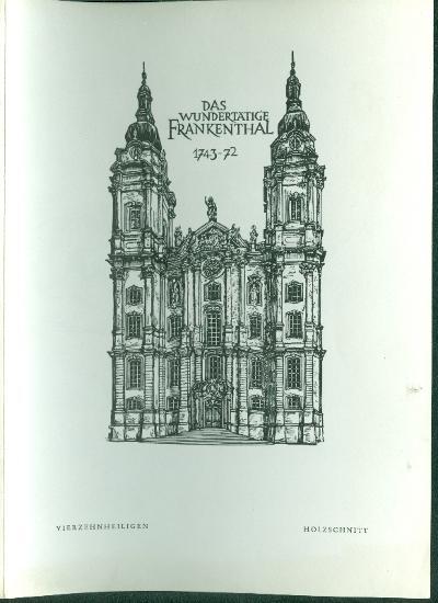 Das Wundertätige Frankenthal monostor
