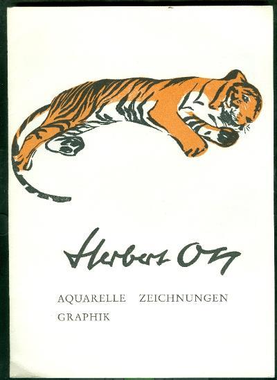 Herbert Ott tigris szignált