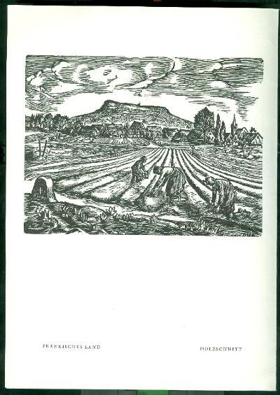 Herbert Ott Fränkisches land szignált