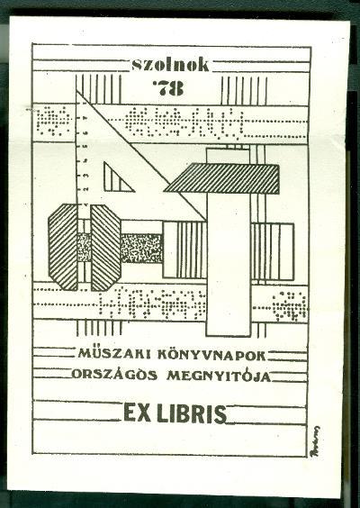 Műszaki Könyvnapok Országos Megnyitója. Szolnok '78