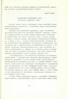 Nyelvészeti tanulmányok 1980.